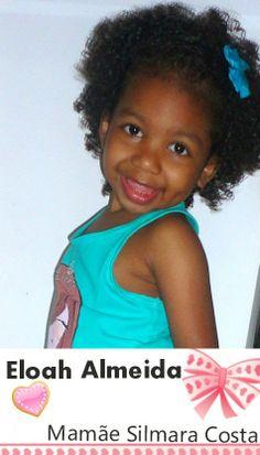 Cantinho Infantil da Bia: Fofura da Semana: Eloah