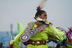 American Indian Pow-Wow 3-, via Flickr. Verna Street, Champion Fancy Shawl Dancer