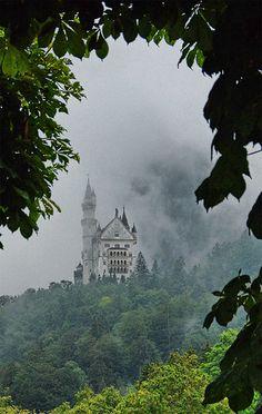 Neuschwanstein Castle, in Bavaria, Germany. My favourite castle in the whole wide world!