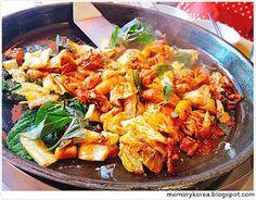 Memory Korea: 9. [닭] 닭갈비 ( 집밥 백선생 )
