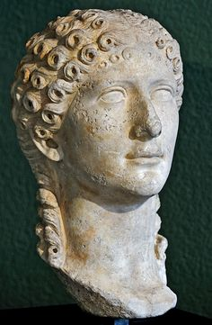 Agrippina the Younger. A Milan, Civic Archaeological Museum Roman Hairstyles, Roman History, Roman Emperor, Roman Art, Ancient Rome, Sculpture Art, Mythology, Renaissance, Museum