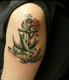 Tatuaggi con ancora per uomo (Foto 3/40) | QNM