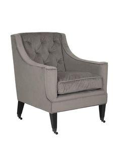 Safavieh Sherman Arm Chair, Mushroom Taupe
