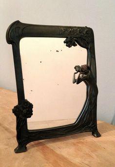#mirror #ArtNouveau #oldshopstarysklep #krakow