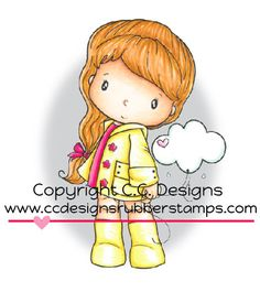 C.C. Designs - Swiss Little Cloudy Stamp www.papercrafts.ch