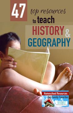 Need history and geography resource and curriculum ideas? Look no further! This comprehensive list compiled by a homeschool mom of four kids has a little bit of everything.