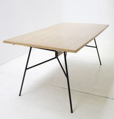 designbinge: french dining table by Eugene Gaillard