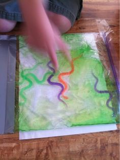 86 days of Summer Vacation...A PIN a Day!: Slime sensory Bag