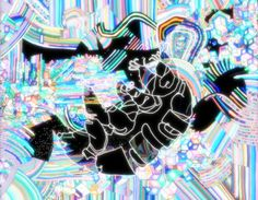 "BRIAN LAROSSA  Tardigrade in Radioactive Spring, Digital C-Print, 19""x16"""