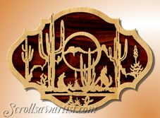 Scroll Saw Patterns :: Native American & Southwestern -