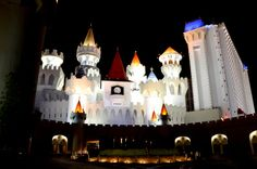 Excalibur Hotel has TWO wedding chapels.    Time to proclaim your love.