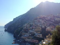 Positano, one of the most picturesque towns on the Amalfi Coast