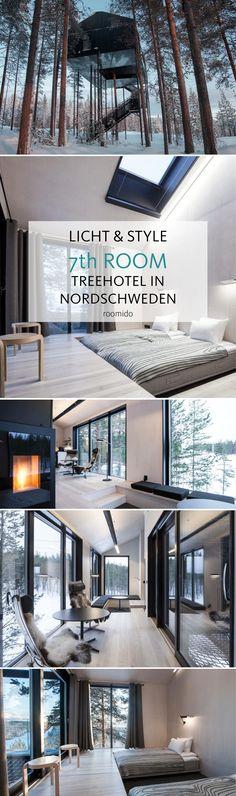 TREEHOTEL: Ein spektakulärer Entwurf des Architekturbüros Snøhetta die Kollektion außergewöhnlicher Baumhäuser im schwedischen Lappland. Mehr auf roomido.com #roomido #treehouse