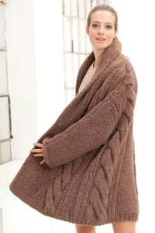 Sweater Coat Knitting Pattern : 1000+ images about sweater for loretta to knit on Pinterest Knit sweaters, ...
