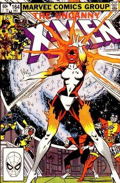 Uncanny X-Men #164 - Comic Book Cover - Ms. Marvel - Binary is born.