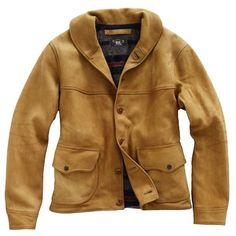 RRL/Walker Leather Jacket