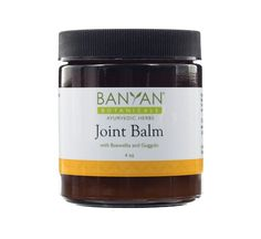 Banyan Botanicals Joint Balm - 99% Organic, 4 oz - Boswellia and Guggulu Supporting Proper Function of Joints *** Click image to review more details.