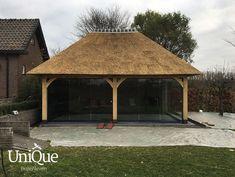 Tuinpaviljoen Erp 2 - UniQue Buitenleven Gazebo, Outdoor Structures, Unique, Kiosk, Pavilion, Cabana