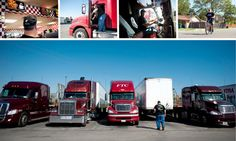 A Hard Turn - Big-Rig Drivers Focus on Getting Healthy - NYTimes.com