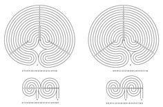 Das 15-gängige Labyrinth