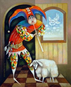 Vladimir Olenberg was born in Russia in 1950 and based in Spain now. He studied art in Russia and Kazakhstan, and worked during many years as an illustrator and designer.