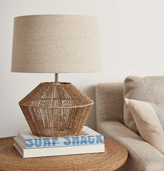 Our Woven Jute Rope Table Lamp will add a dose of organic texture to any space. This coastal inspired table jute rope lamp is the perfect complement to any decor. Best Desk Lamp, Rope Lamp, Large Lamps, Bright Homes, Rustic Lamps, Cool Floor Lamps, Bedroom Lamps, Unique Lamps, Hanging Lights