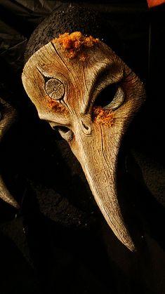 Fall Bird/Plague doctor mask