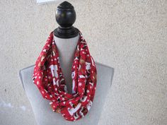 A personal favorite from my Etsy shop https://www.etsy.com/ca/listing/213285894/fabric-scarf-infinity-scarf-tube-scarf