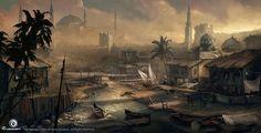 Martin Deschambault - Assassins Creed IV - Black flag - Concept Art