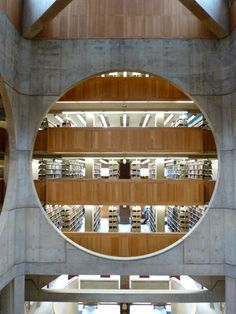 Library Phillips Exeter / Louis Khan / Arquitectura / www.facebook.com/catalogoarquitectura
