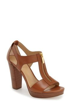 93e82e609bd5  Berkley  T-Strap Sandal (Women). Michael Kors ShoesHandbags ...