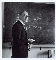 Sunday morning in Arcueil Robert Doisneau 1945 Robert Doisneau. Louis de Broglie's Blackboard, Institut Henri Poincare. Paris, 1942.