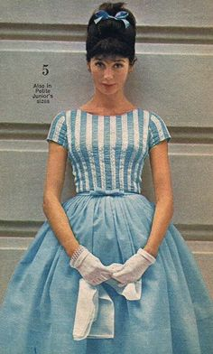 Dress fashion from Sears, 1963.what a difference from now.  If girls now a days knew what they are missing