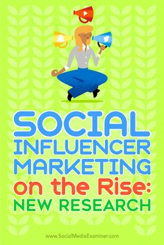 Is your company considering influencer marketing?  Many businesses aren't sure if influencer marketing is a fit for them, or even how to go about pursuing a relationship with potential influencers.  In this article, you'll discover why social influencer marketing is useful, where brands are running influencer campaigns, and which tactics are most successful. Via @smexaminer.