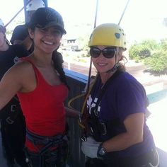 #EVIT Assistant Principal took a leap off the edge and joined #FireScience students yesterday on their first day rappelling! See the pictures by going to EVIT Fire Science's Facebook page - www.facebook.com/evitfire. #WeAreEVIT