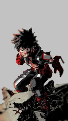 Anime Izuku Midoriya-My hero academia art ,so cool. Manga Anime, Anime Body, Fanarts Anime, Manga Art, Anime Art, Boku No Hero Academia, My Hero Academia Manga, Anime Quotes Tumblr, Deku Anime