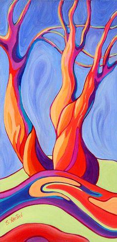 """Terpsichore Tribute"", #abstract #landscape art for #smartphonecase, $32, details, http://sandi-whetzel.artistwebsites.com/products/terpsichore-tribute-sandi-whetzel-iphone5-case-cover.html"