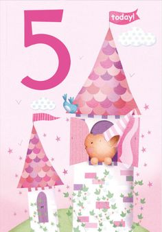 Lizzie Walkley - Squirel_princess_agecard