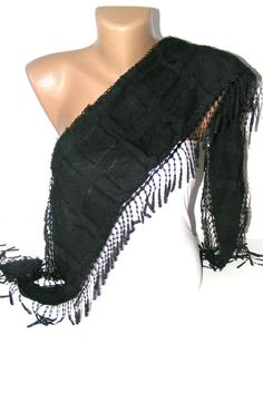 summer fashion scarvesnew scarf trendsblack by scarvesCHIC on Etsy, $15.90