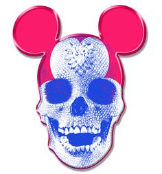Mickey Mouse Skullface (aka Norman Bates' Dad) by Justlikeandy