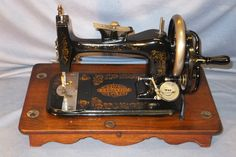 1876c DOMESTIC Hand Crank Sewing Machine