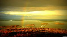 Rainbow Over Bar Harbor by Antonia Quest Photography/Larry Moore, via Flickr