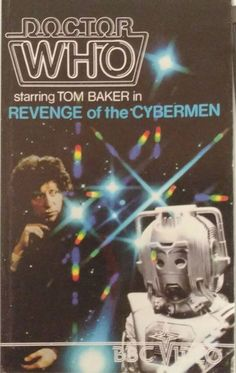 Very first video recording release of Doctor Who in October 1983 on VHS