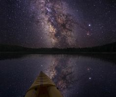 I want to go where there is no light pollution and see millions of stars