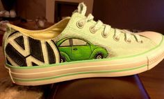 VW painted shoes