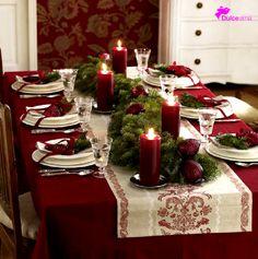 Sorprende a tus invitados con una mesa como esta. #Tips #DulceAlma #FelizNavidad #DulceTradición