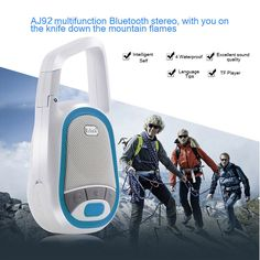 Mini Outdoor Waterproof Bluetooth Wireless Speaker for iPhone with Self Timer