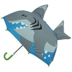 These 3-D umbrellas for kids really come alive! With over a 2ft wide opening, your child will be safe from the elements. Its easy push/pull action means no more pinched fingers! Details: - These 3-D d
