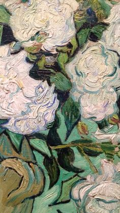 Vincent Van Gogh- detail of Roses
