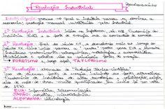 """117 curtidas, 8 comentários - Resumos, ETEC, ENEM e estudos (@passeisemcursinho) no Instagram: """"Resumo muito pink sobre a REVOLUÇÃO INDUSTRIAL no ponto de vista geográfico!#passeisemcursinho"""""""